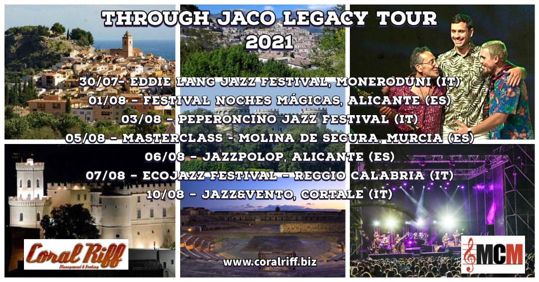 THROUGH JACO LEGACY TOUR 2021